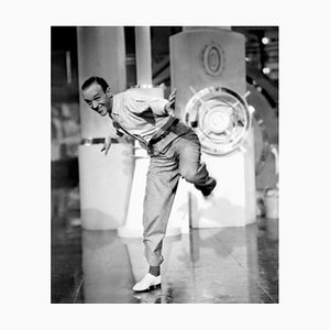 Fred Astaire in Dancing in Action Archival Pigment Print Framed in White by Everett Collection