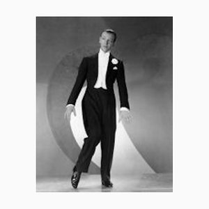 Fred Astaire in Roberta Archival Pigment Print Framed in White by Everett Collection