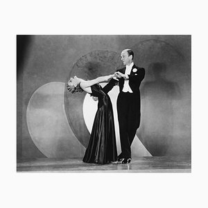 Ginger Rogers and Fred Astaire Archival Pigment Print Framed in Black