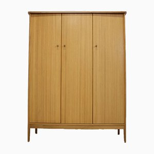 Mid-Century Teak and Walnut Wardrobe from Vanson, 1960s
