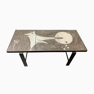 Table Basse en Céramique par Robert & Jean Cloutier, 1960s