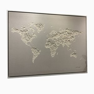 World Map by Jean Denant, 2015