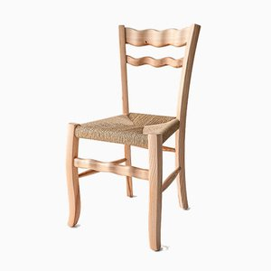A Signurina - Nuda 02 Chair in Ashwood by Antonio Aricò for MYOP