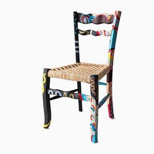 A Signurina - Palermo Chair aus handbemaltem Eschenholz von Antonio Aricò für MYOP
