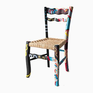 A Signurina - Palermo Chair in Hand-Painted Ashwood by Antonio Aricò for MYOP