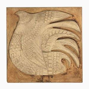 Keramikplatte von Roger Capron, 1960er