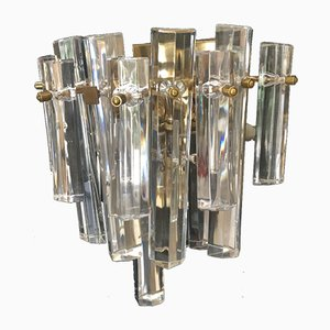 Crystal Sconces by Paolo Venini, 1970s, Set of 3