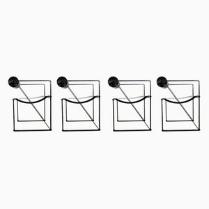 Seconda Dining Chairs by Mario Botta for Alias, 1982, Set of 4