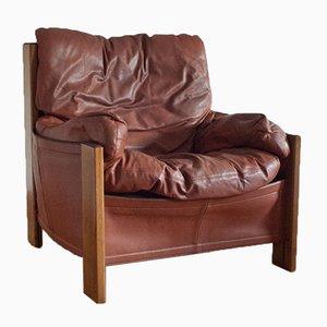 Vintage Bergère Sessel von Tobia & Afra Scarpa für Maxalto