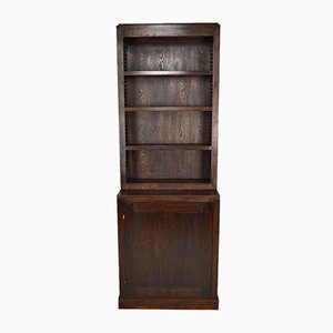 Modernist Art Deco Cabinet or Bookcase in Oak by André Sornay, 1930s