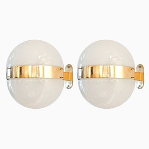 Mid-Century Clio Sconces by Sergio Mazza for Artemide, Set of 2