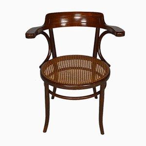 Antiker Armlehnstuhl aus Bugholz von Fischel, 1900er