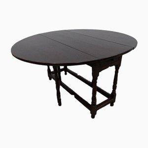 Antique Gate Leg Side Table