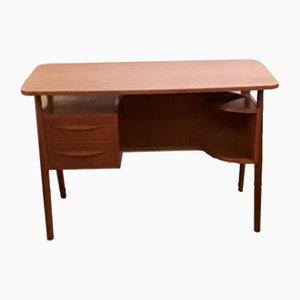 Vintage Teak Desk by Gunnar Nielsen Tibergaard, 1960s