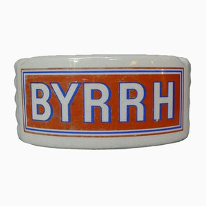 French Ceramic Ashtray with Byrrh Advertising from MDL, 1940s