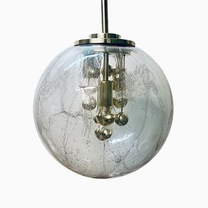 Mid-Century Ceiling Lamp by Ger Furth for Doria Leuchten