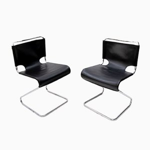 Model Bisica Cantilever Chairs from Pascal Mourgue, 1968, Set of 2