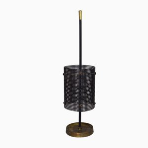 Black Umbrella Stand by Mathieu Matégot for Atelier Matégot, France, 1950s