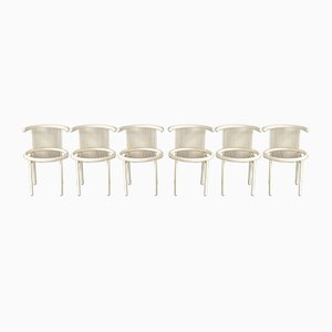 Bentwood Dining Chairs by Helmut Lubke for Lübke, 1960s, Set of 6