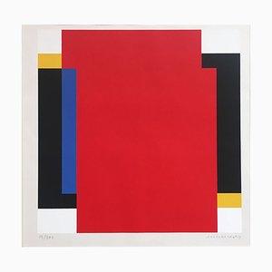 Siebdruck von Jo Niemeyer, 1980er
