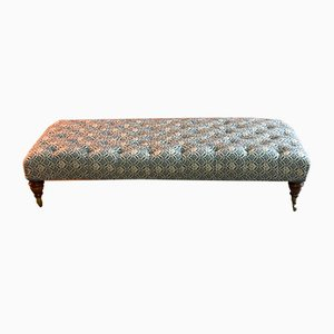 Large Footstool from Howard & Sons, 1930s