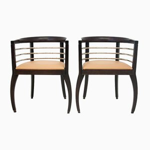Vintage Polish Armchairs, Set of 2