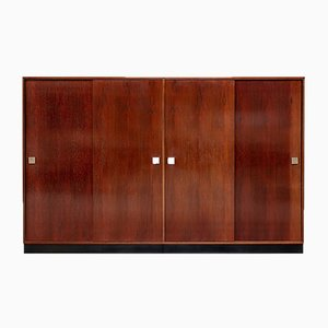 Modernist Rosewood Wardrobe by Alfred Hendrickx for Belform, 1970s