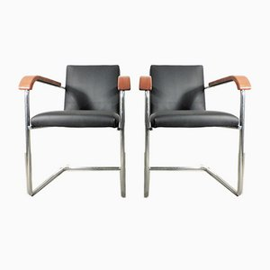 Cantilever Armchairs from Embru, 1940s, Set of 2