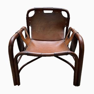 Mid-Century Lounge Chairs by Tino Agnoli, Set of 2
