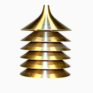 Metall Deckenlampe von Ikea, 1970er