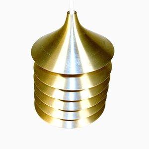 Lampada da soffitto in metallo di Ikea, anni '70