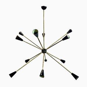Lámpara de techo Sputnik, años 50