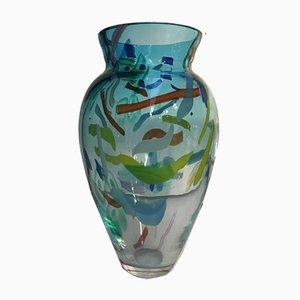 Vintage Murano Vase Sculpture by Sylvian Signoretto, 1970s