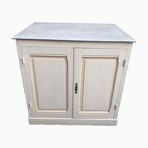 Painted Fir Cabinet, 1950s