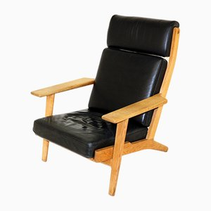 GE-290H Oak Armchair by Hans J. Wegner for Getama, 1960s