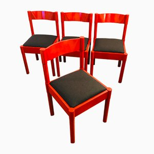 Dining Chairs by Vico Magistretti for Vico Magistretti, 1960s, Set of 4