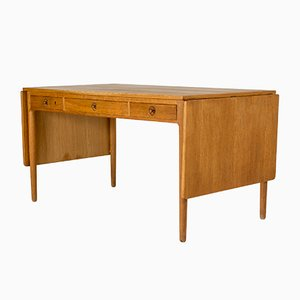Teak AT 305 Dining Table by Hans J. Wegner for Andreas Tuck, 1960s