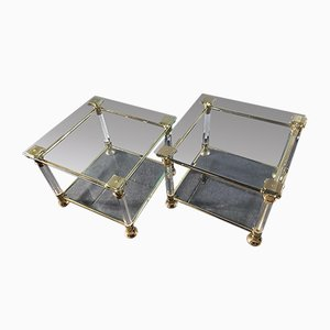 Vintage Italian Coffee Tables, Set of 2