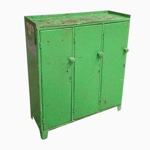 Industrial Green 3-Door Locker, 1960s