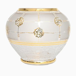 Vintage Model Marie Louise Glass Vase from De Rupel Boom, 1930s