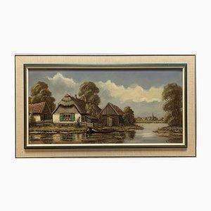 Peinture The Cottage par WTHLagrand, Huile sur Toile, 1920s