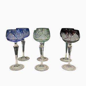 Antike Gläser, 6er Set
