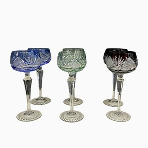 Antique Glasses, Set of 6
