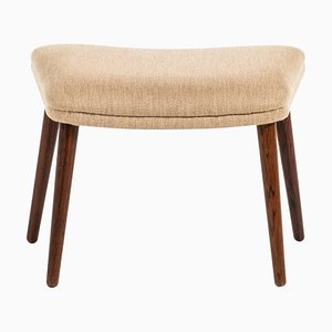 Rosewood Model 91 Stool by Illum Wikkelsø for Michael Laursen, Denmark, 1950s