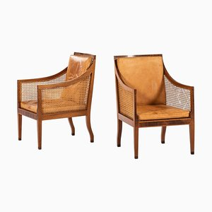 Rosewood Model 4488 Easy Chairs by Kaare Klint for Rud. Rasmussen, 1931, Set of 2