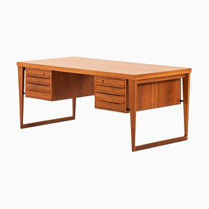 Model 70 Desk by Kai Kristiansen for Feldballes Møbelfabrik, Denmark, 1958