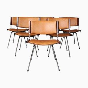 Chaises de Salon en Palissandre par Nanna & Jørgen Ditzel, 1960s, Set de 6