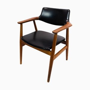 Armchair in Teak by Erik Kirkegaard for Glostrup, 1960s