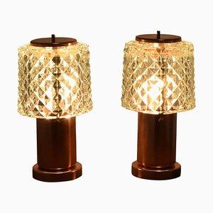 Kleine Tischlampen von Kamenicky Senov, 1970er, 2er Set