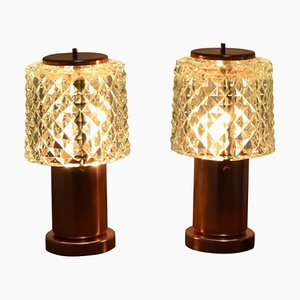 Small Table Lamps from Kamenicky Senov, 1970s, Set of 2